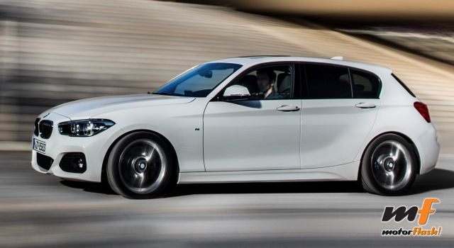 Lateral sport BMW Serie 1 2015