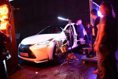 Se rueda en Madrid el spot de presentación del nuevo híbrido de Lexus