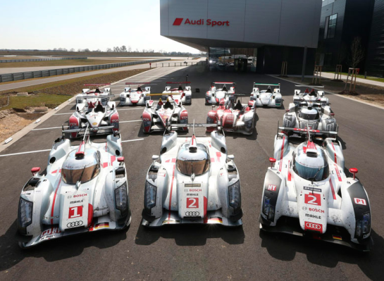 Audi se prepara para la cita en las 24h de Le Mans: hacemos un repaso