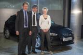 Entrega del Audi 15 millones