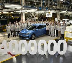 La fábrica de Palencia Renault fabrica 4.000.000