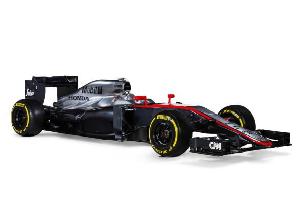 Mclaren-Honda presenta el nuevo MP4-30 de Fernando Alonso