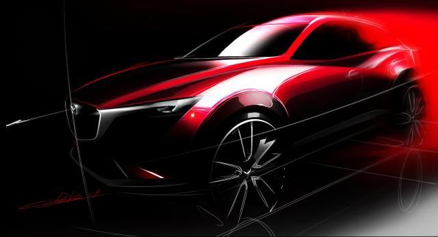 El nuevo Mazda CX-3 se presentará en Los Angeles