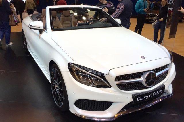 Mercedes Clase C Cabrio - Madrid Auto 2016