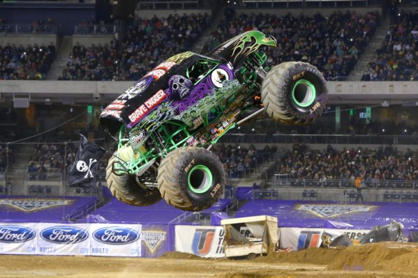 Los Monster Trucks llegan a Madrid