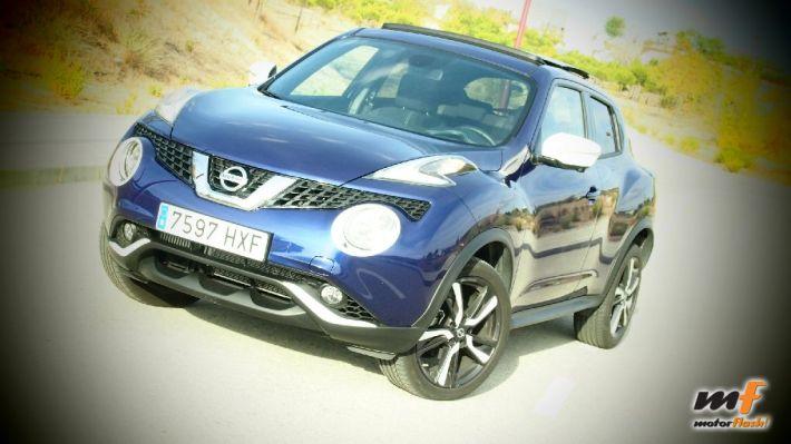 Prueba Nissan Juke, impresiones, comportamiento y conclusiones