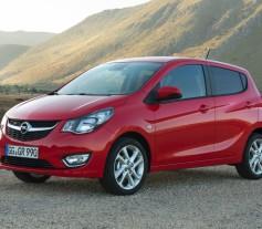 Opel KARL 2015 Frontal