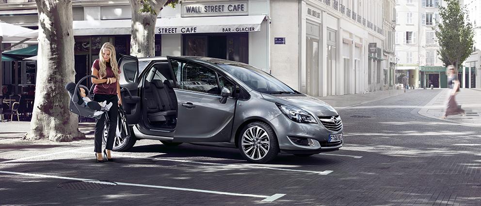 Mi primer viaje fue en Opel Meriva