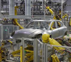 Nueva fábrica de Porsche en Leipzig