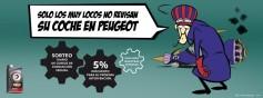 Peugeot España pone en marcha su nueva campaña de revisión de vehículos basada en la serie 'Los Autos Locos'