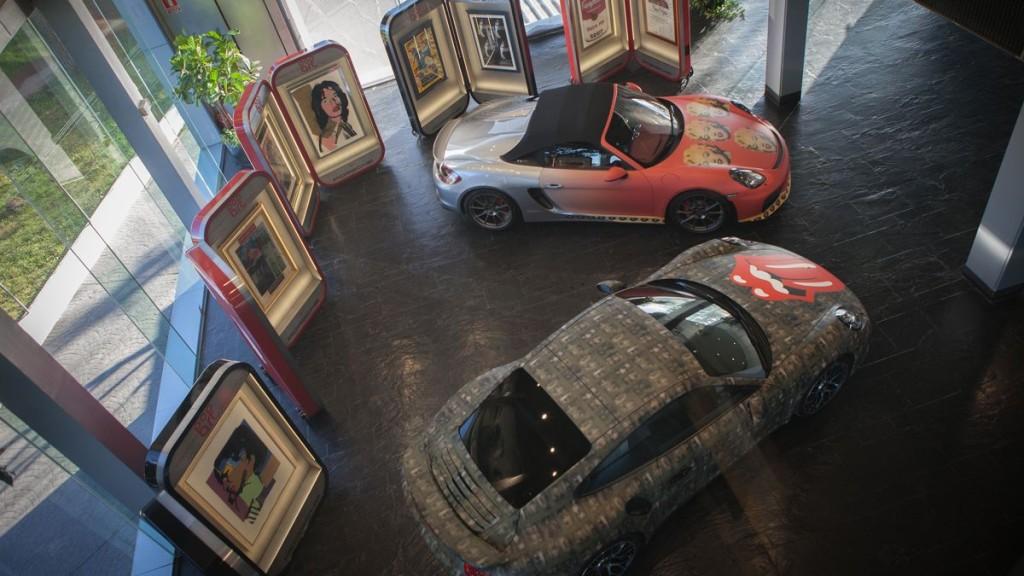 Exposición Porsche Andy Warhol