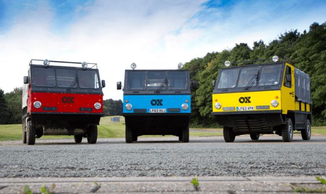 ¿Por qué el Ox es un vehículo diferente?
