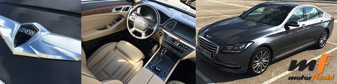 Prueba Hyundai Genesis 2015 españa