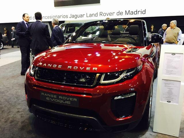 Range Rover Evoque Cabrio - Madrid Auto 2016