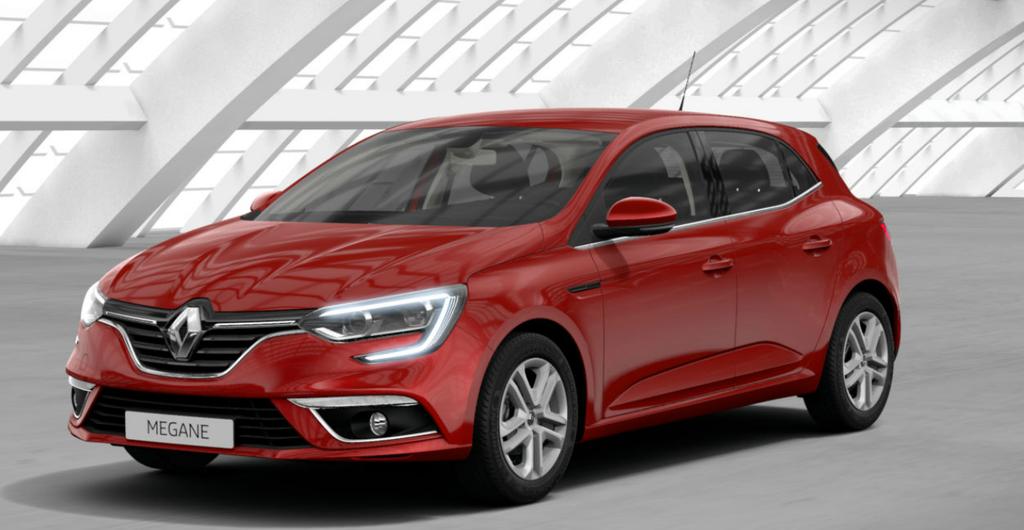Renault Megane Rojo Deseo