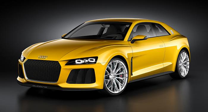 Salon Frankfurt 2013 Audi Sport Quattro Concept Delantera