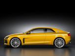 Salon Frankfurt 2013 Audi Sport Quattro Concept Perfil