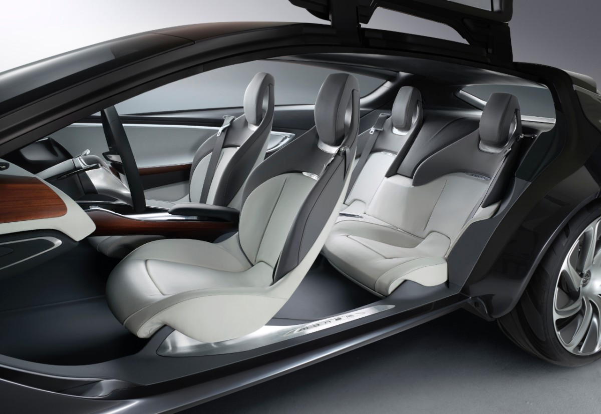 Salon Frankfurt 2013 Opel Monza Concept Interior