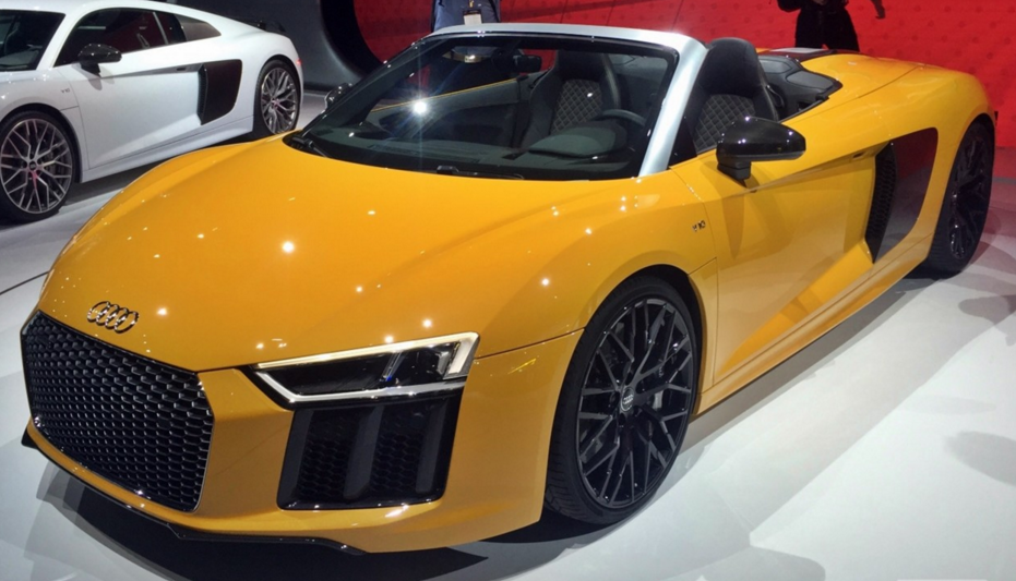 Salón de Nueva York - Audi R8 Spyder