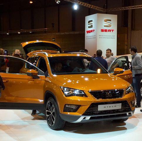 Seat Ateca - Madrid Auto 2016