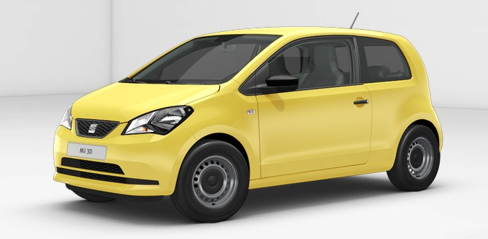 Económicos Seat Mii Reference