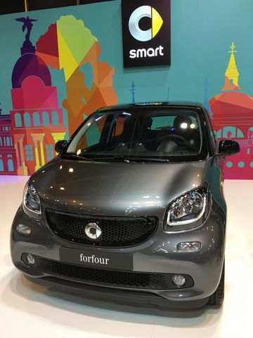 Smart ForFour - Madrid Auto 2016