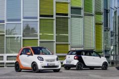 Los Nuevos Smart Fortwo y ForFour a partir de 11.800 euros