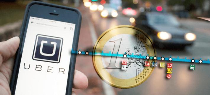 Uber cubrirá los trayectos de la Línea 1 de Metro