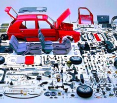 Venta del coche por piezas