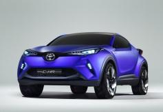 Toyota C-HR Concept, el futuro crossover de Toyota