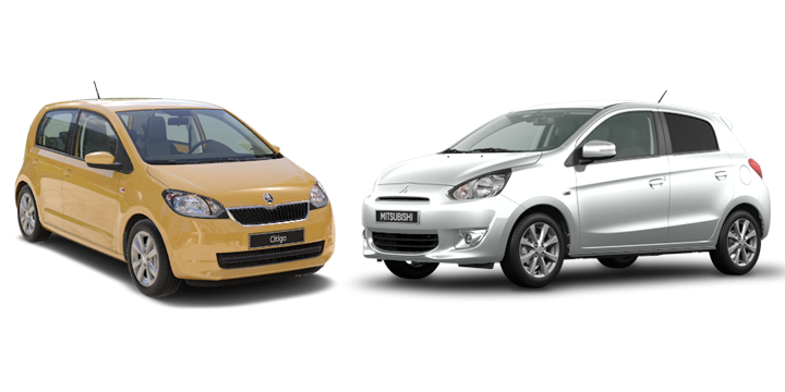 Comparativa Citigo vs SpaceStar