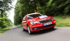 Škoda patrocina el Tour de Francia un año más