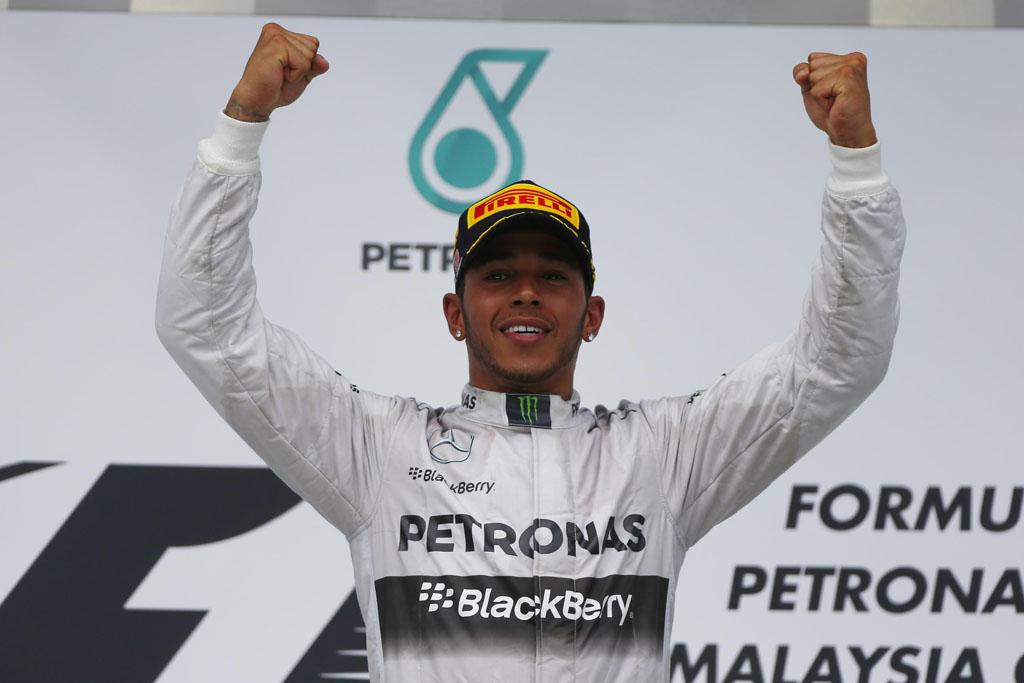 GP Malasia 2014 - Lewis Hamilton