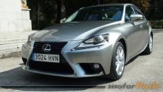 Prueba Lexus IS 300h - Primeras impresiones