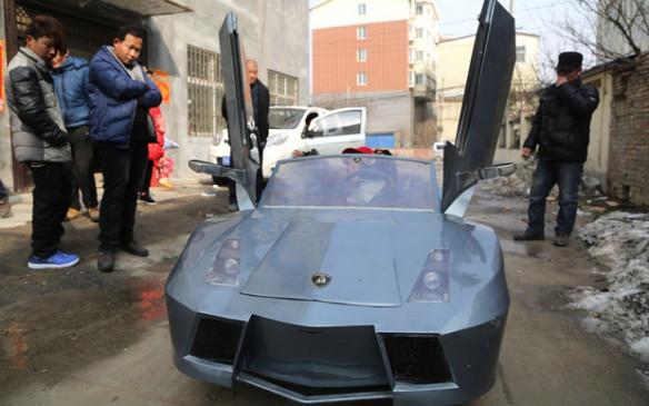 Mini Lamborghini eléctrico
