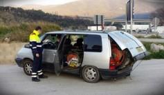 Llevar dentro de una Renault Espace un tractor puede traer problemas