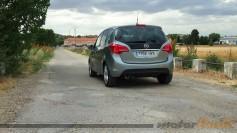 Prueba Opel Meriva - comportamiento y conclusiones