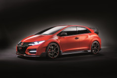 Honda Civic Type R - frontal con lateral