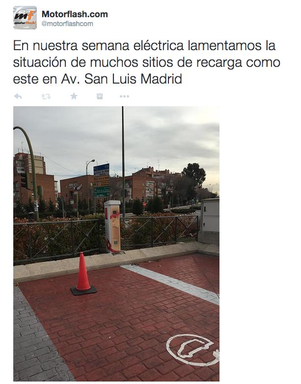 Zona de Recarga de Gas Natural en Madrid