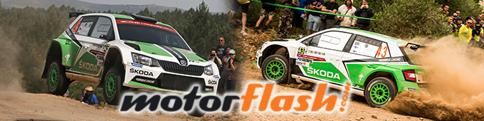 Tercer podio en el Campeonato del Mundo de Rallyes para el ŠKODA Fabia R5