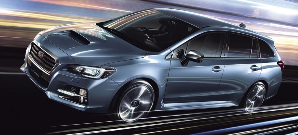 Pretensiones deportivas para el Subaru Levorg