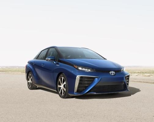 Toyota Mirai, el futuro de la pila de combustible
